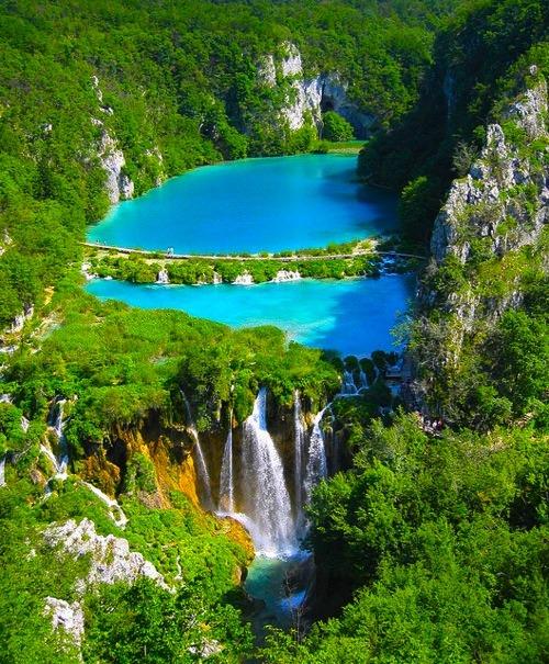 Turquoise, Plitvice Lake, Croatia