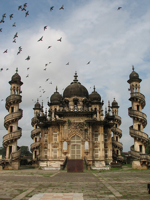 Mohabbat Maqabara Palace in Junagadh, Gujarat, India