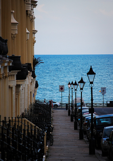 Down to the Sea, Brighton, England