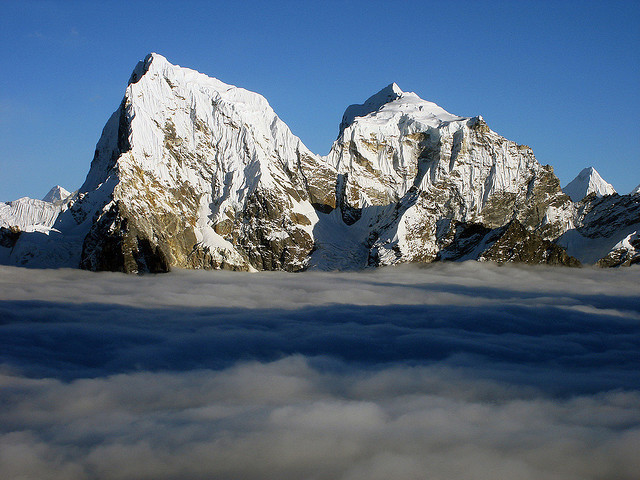 Cholatse 6440m is a mountain in the Khumbu region of the Nepalese Himalaya. Cholatse is connected to Taboche  by a long ridge. Cholatse was first climbed via the...