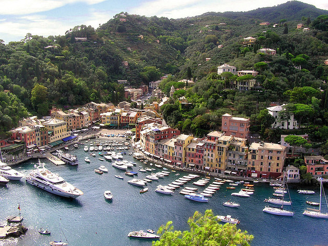 by B℮n on Flickr.Portofino is a small Italian fishing village, comune and tourist resort located in the province of Genoa on the Italian Riviera.