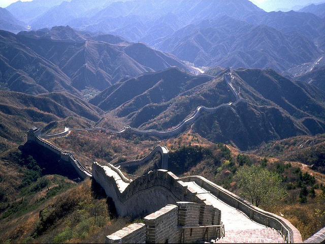 by Indian Luxury Trains on Flickr.The Great Wall of China