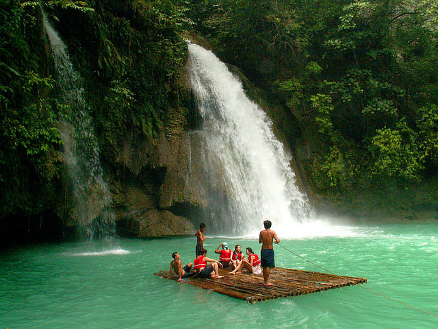 by Storm Crypt on Flickr.Kawasan Falls, Cebu Island, Philippines.