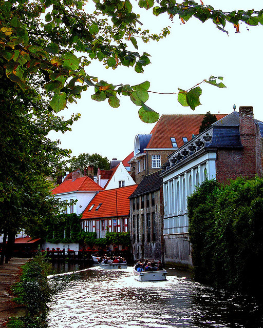 by Peace Correspondent on Flickr.Sightseeing along the canals of Bruges, Belgium.