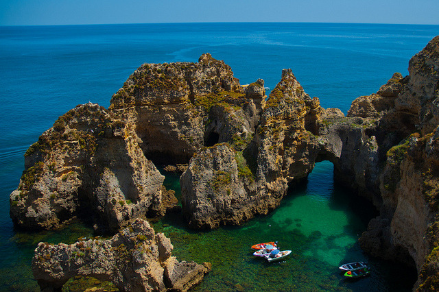 Ponta da Piedade in Algarve, near Portimao, Portugal
