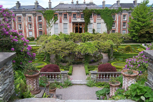 Bantry House gardens, County Cork, Ireland
