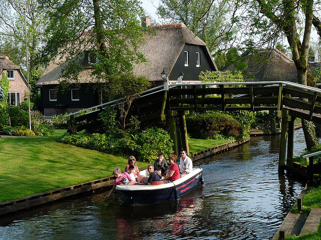 The village without roads, Giethoorn, Netherlands