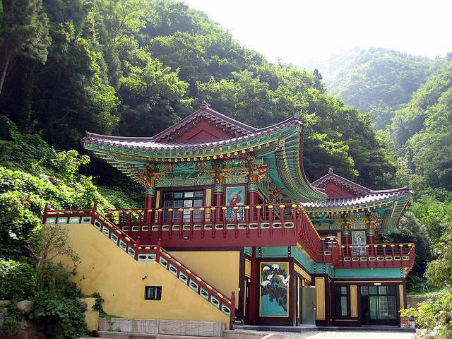 Haedosa Temple in Ulleungdo Island, South Korea