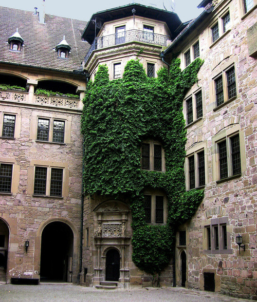 Castle Neuenstein, Wurttemburg, Germany