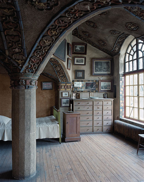 Victorian Bedroom, Mercer House, Doylestown, Pennsylvania