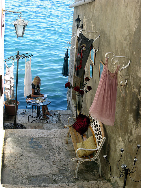 Seaside, Rovinj, Croatia