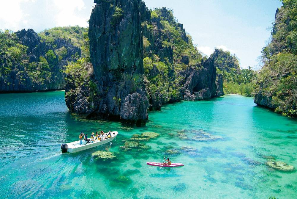 Described as one of the best island destinations in the world, Palawan Islands, Philippines