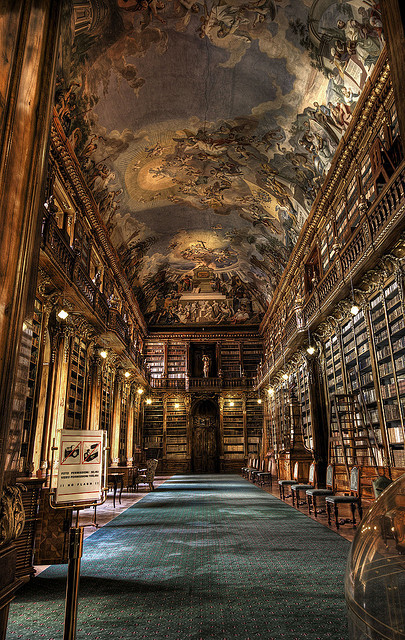 Library, Prague, Czech Republic