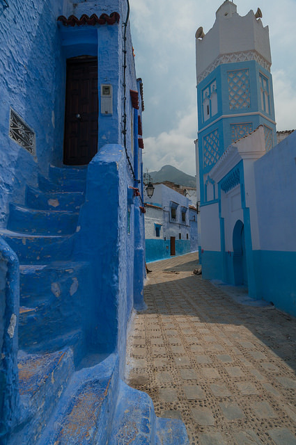 Some kind of blue, Chefchaouen / Morocco